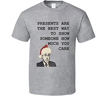5e2860b99 Amazon.com: Funny Michael Scott Christmas Quote The Office Shirt ...