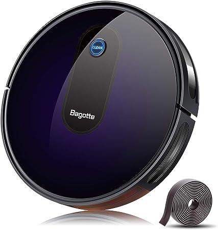 Bagotte BG600 BG700 BG800 - Kit de repuesto para aspiradora robótica, 4 cepillos laterales, 2 juegos de filtros de alto rendimiento y filtros de espuma, 1 cepillo de rodillo: Amazon.es: Hogar