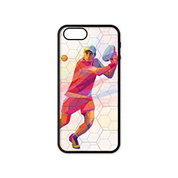 Funda móvil iPhone 5/5s/SE Padel Volea 3D: Amazon.es ...
