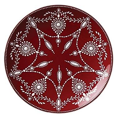 Lenox Marchesa Empire Pearl Accent Plate, Wine
