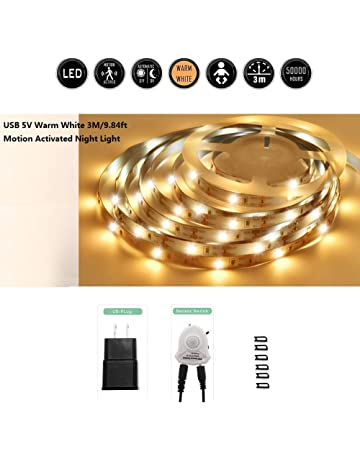 2M 120 LED 6500K White LED Strip,USB Or Battery Operated