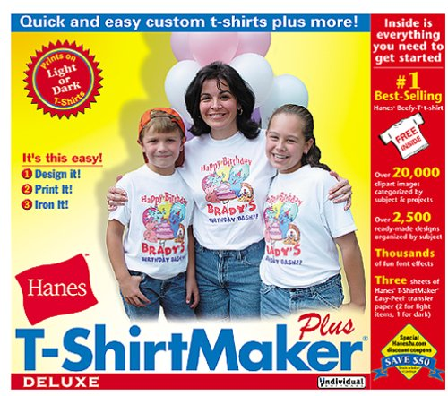 Individual Software PRM TSM T ShirtMaker Deluxe