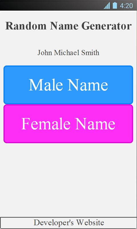 random name generator