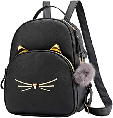 F/_Gotal Womens Backpack Purse Leather Travel Shoulder Bags Nylon Anti-Theft Rucksack Casual Daypack Satchel School Bags