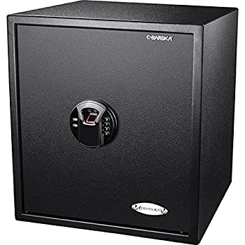 Image of Biometrics BARSKA AX12842 Large Biometric Fingerprint Keypad Security Home Safe 1.94 Cubic Ft