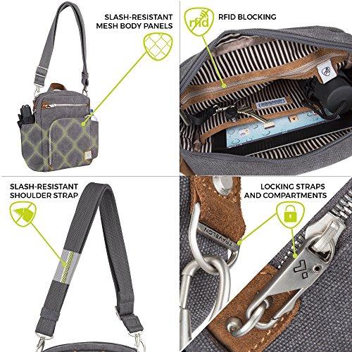 Indigo Bag Anti Tour Travelon Size One Indigo Heritage theft 1xXqRU7