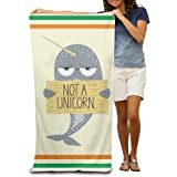 I M Not A Unicorn Narwhal Adults Cotton Towel 80x130 Inches