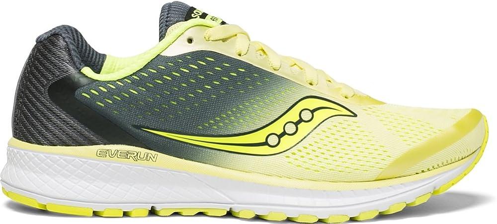 Saucony Men s Hurricane ISO 4 Running Shoe black grey