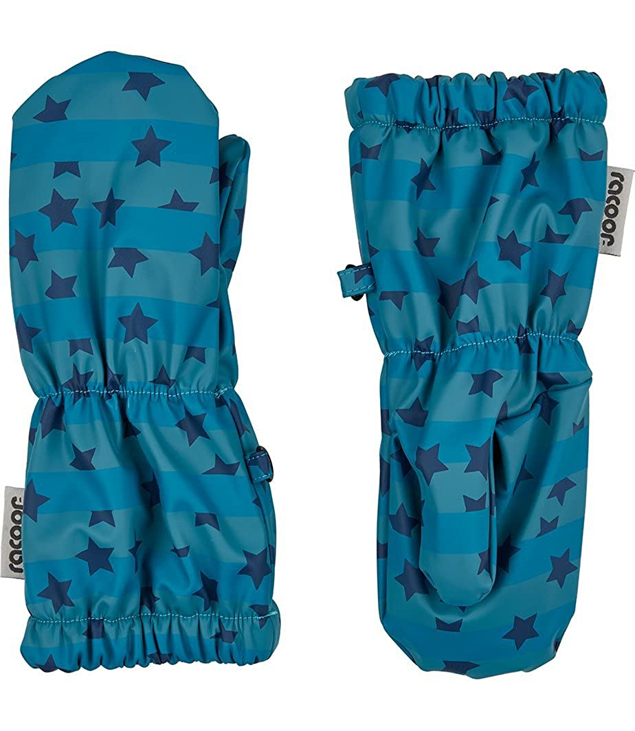 Herstellergr/ö/ße: 00-02 Blau F/äustlinge Racoon Baby-Jungen Vester rain Insignia Blue Ins S Wassers/äule 5000