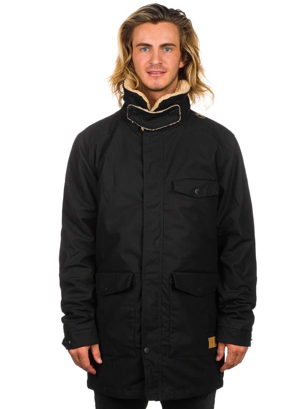 Colour Wear Men's Urban Parka Jacket