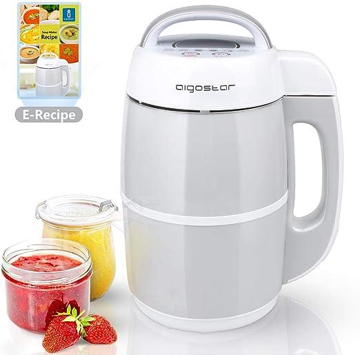 Aigostar Beanbaby 30IMW - 6 funciones en 1. Máquina de leche ...