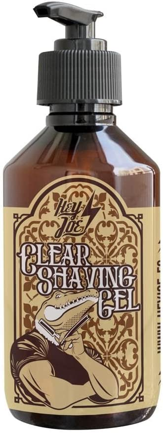 HEY JOE - Clear Shaving Gel 250 ml | Gel de afeitado transparente 250 ml