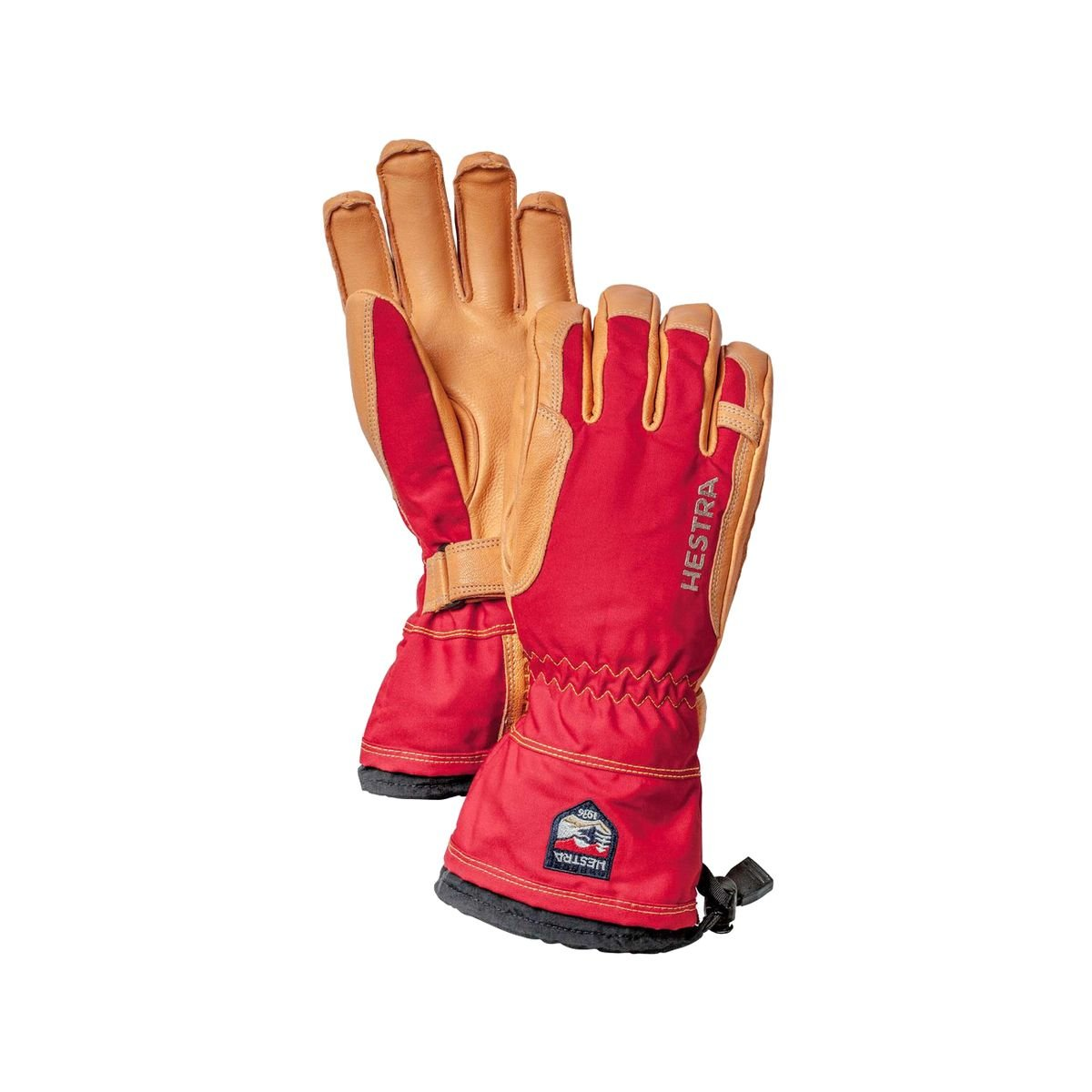 Hestra Narvik Wool Terry Glove Red, 9
