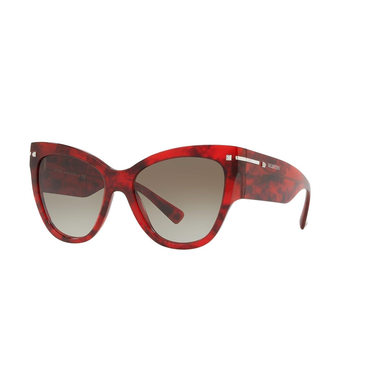 aebff86f82 VALENTINO Women s 0VA4028 50208E 55 Sunglasses