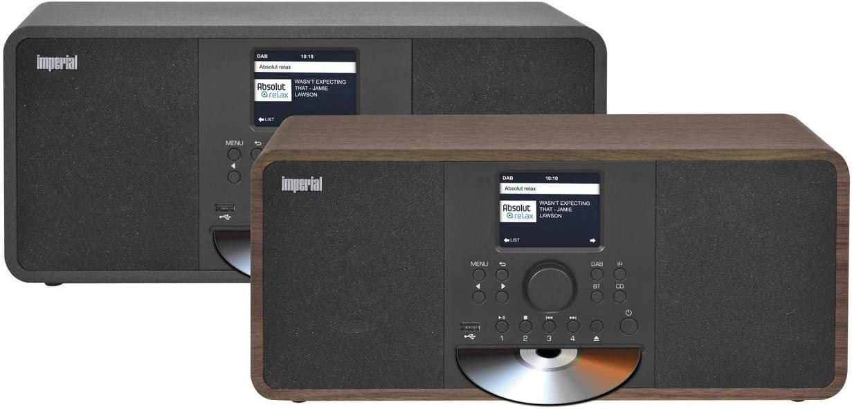 Imperial Dabman I205 Cd Internetradio Dab Stereo Sound Ukw Cd Player Wlan Lan Bluetooth Streamingdienste Spotify Napster Uvm Inkl Netzteil Braun Heimkino Tv Video