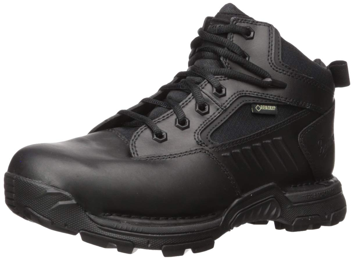 Danner Women's StrikerBolt 4.5'' GTX Military and Tactical Boot, Black, 9.5 M US by Danner