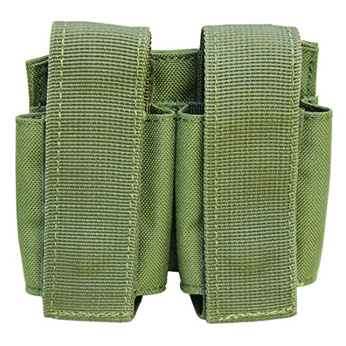 MOLLE Tactical Double 40mm Grenade Pouch - OD ()