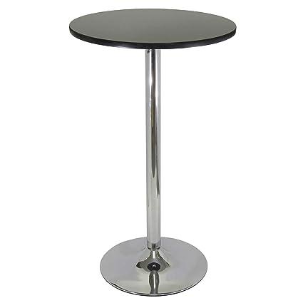88a06dda82d9 Amazon.com - Winsome Wood 93624 Spectrum Dining Black   Chrome - Kitchen    Dining Room Furniture