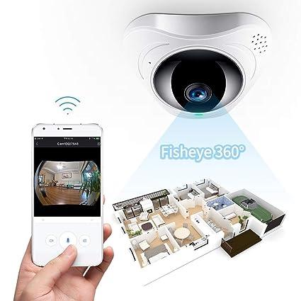 Fredi - Cámara IP de videovigilancia inalámbrica, wifi, HD, 1080p, impermeable,