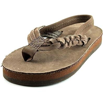09384ac808e Rainbow Sandals Kid s Single Layer Premier Leather Flirty Braidy Expresso