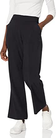 Skechers Womens W03PT45 Go Walk Skechweave Adventure 4 Pocket Wide Leg Pant Casual Pants