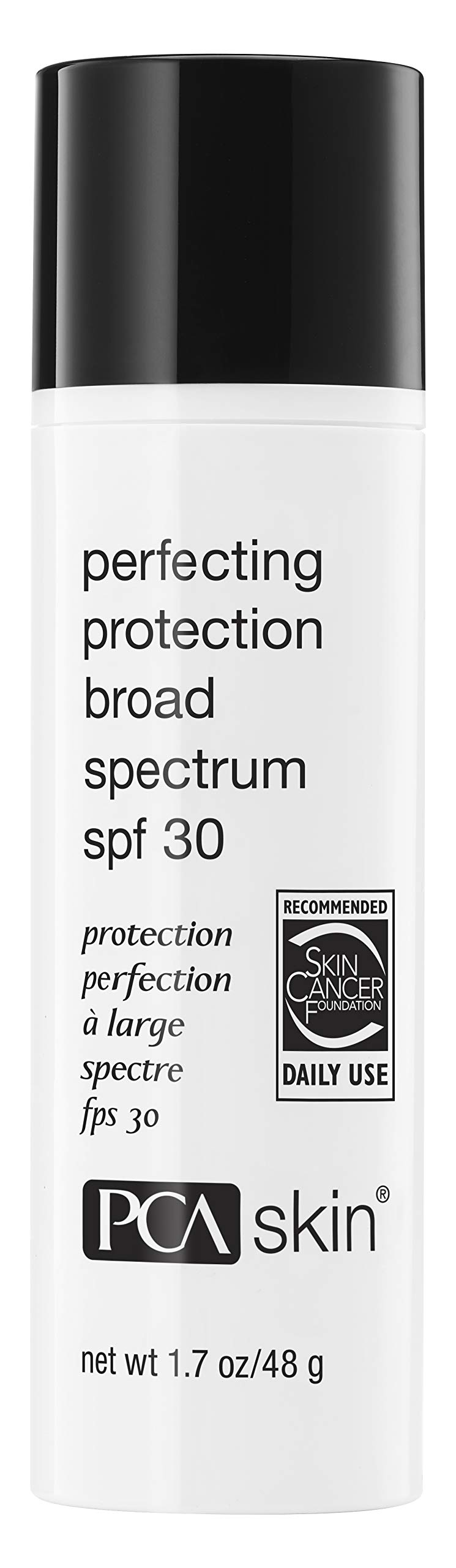 PCA SKIN Perfecting Protection Broad Spectrum SPF 30, Antioxidant Daily Facial Sunscreen for Even Skintone, UVA/UVB Protection, 1.7 oz