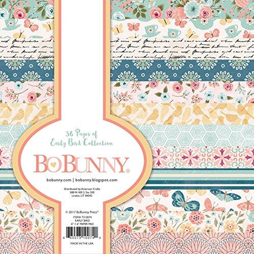 - Bo Bunny 7310074 Pad Paper, Multi
