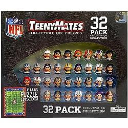 "TeenyMates NFL Quarterback Collection, 32 NFL Team 1"" Figures"