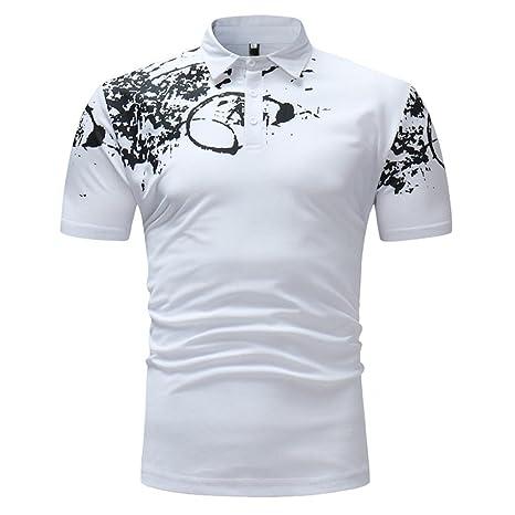 Camiseta y polos basica,Beikoard Ocio simple Negocio de la moda Mens Slim Fit Polo