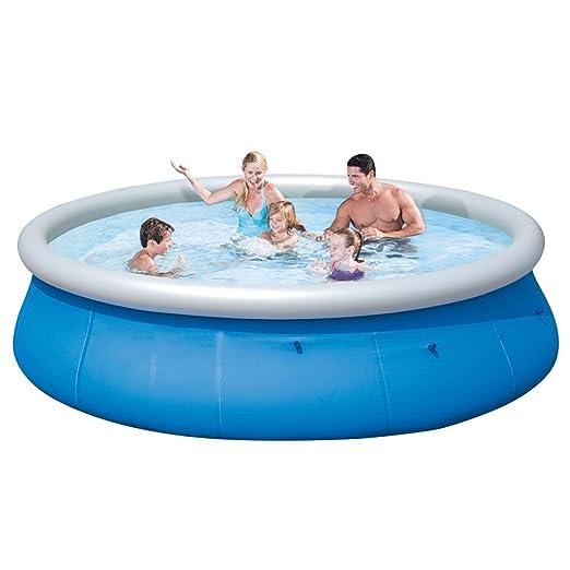 Familia Inflable Piscina Circular Plegable Bañera De Jardín ...