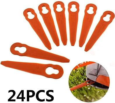 24*Kunststoff Rasentrimmer Messer Ersatz Klingen Passt Für Stihl PolyCut 2-2