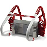 NEW 2 Two-Story Fire Escape Ladder with Anti-Slip Rungs 13-Foot