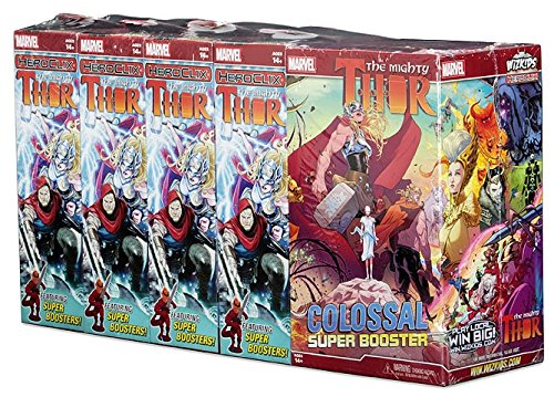 Marvel HeroClix: The Mighty Thor Booster Brick by WizKids