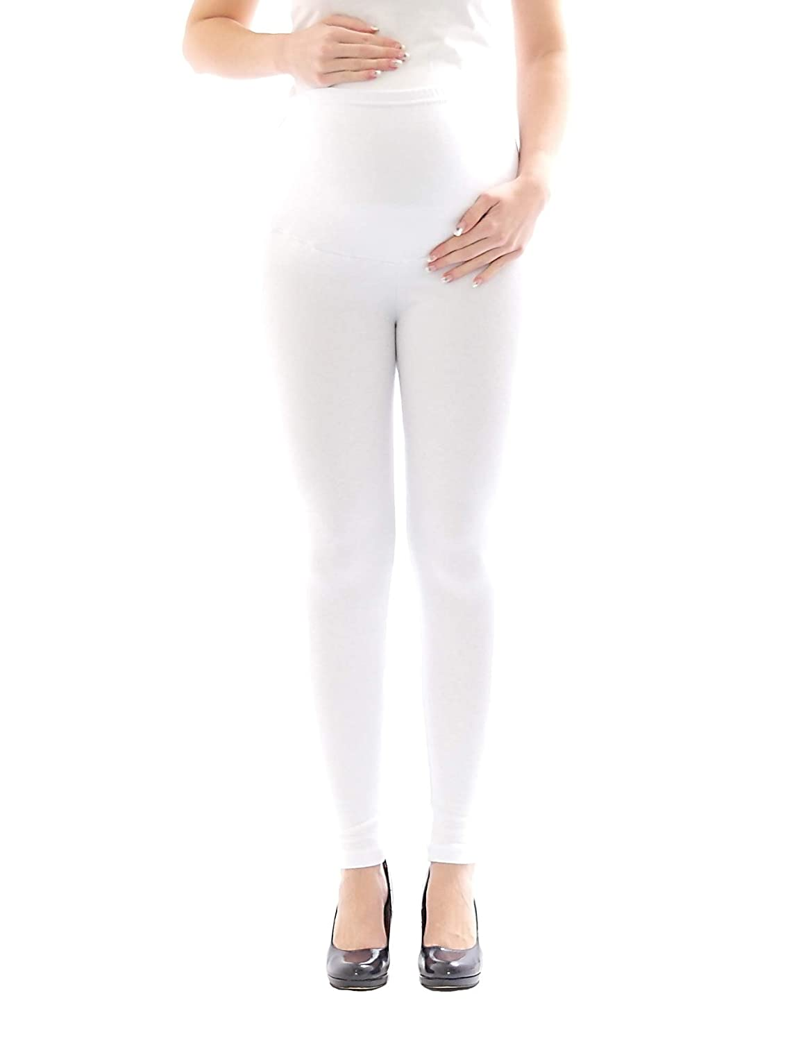 YESET Leggings de maternit/é Thermo Polaire int/érieur Pantalon Long Coton umstand-Leggings