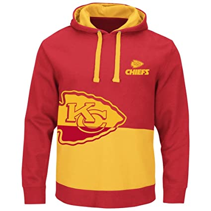 Amazon.com   Majestic Kansas City Chiefs Coin Toss Pullover Hooded ... db98c6bea