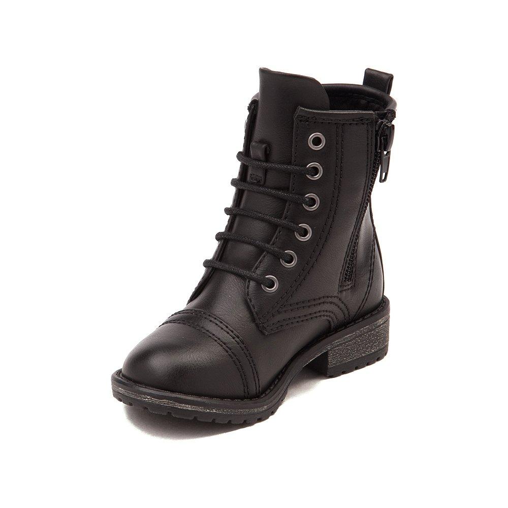 Madden Girl Chandra Boot (4 M US Big Kids, Black)