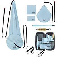 Imelod Saxophone Cleaning kit with Case for Alto Tenor Clarinet Flute and other Wind & Woodwind Struments Including Sax…