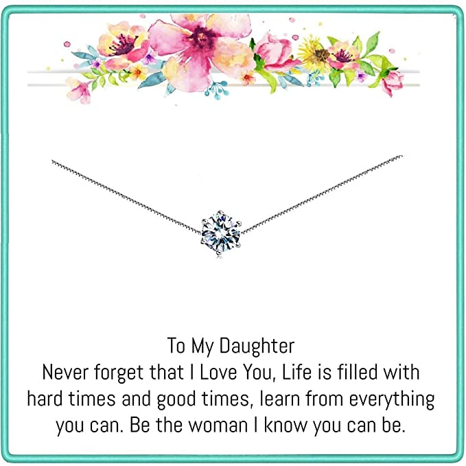 Amazon.com: Onepurposegifts To my Daughter Gifts - Regalos ...