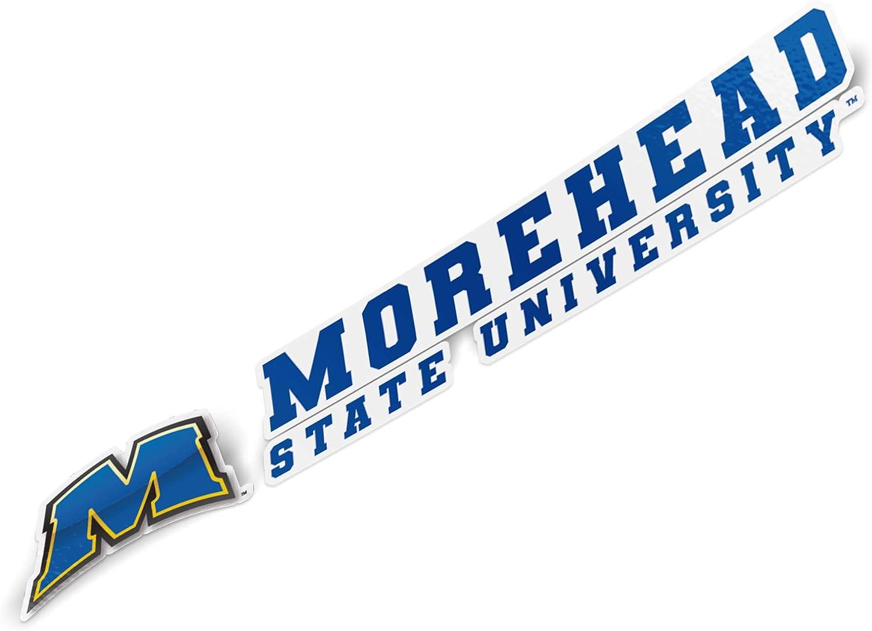 Morehead State University MSU Eagles NCAA Name Logo Vinyl Decal Laptop Water Bottle Car Scrapbook 8 Inch Sticker