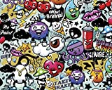 OhPopsi WALS0004 Graffiti Monster Wall Mural