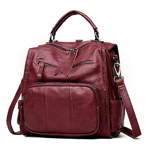 CUTEKOLVE Zaino Donna Casuale Daypack Borse a Zainetto Borsa a Tracolla Backpack per Scuola Viaggio Lavoro
