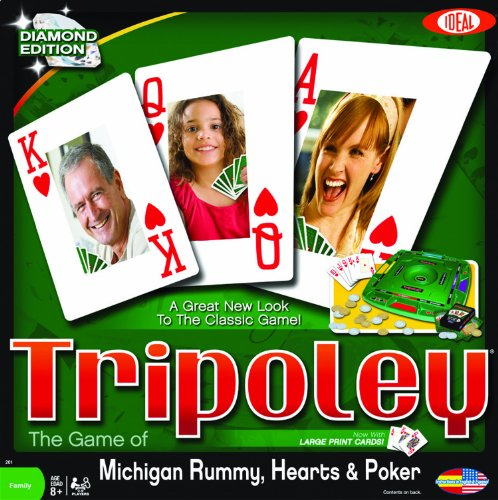 Tripoley Diamond Edition Card Games by Ideal