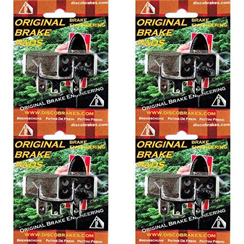 4Pairs/8Pcs Kevlar Tektro Auriga Kevlar Disc Brake Pads