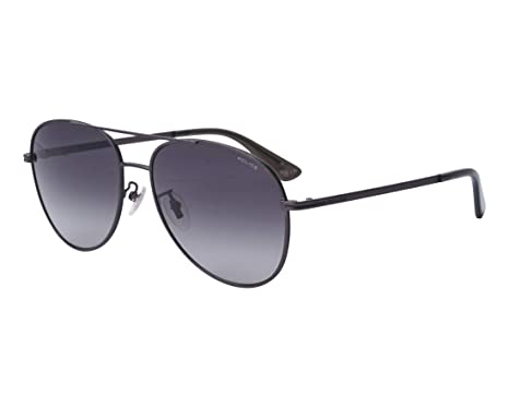 0918facd2b4b4 Police sunglasses Chief 1 (SPL-777-N 08Y8) Matt Gun - Grey Gradient ...