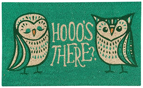 Now Designs 3075175 Doormat Hootenanny