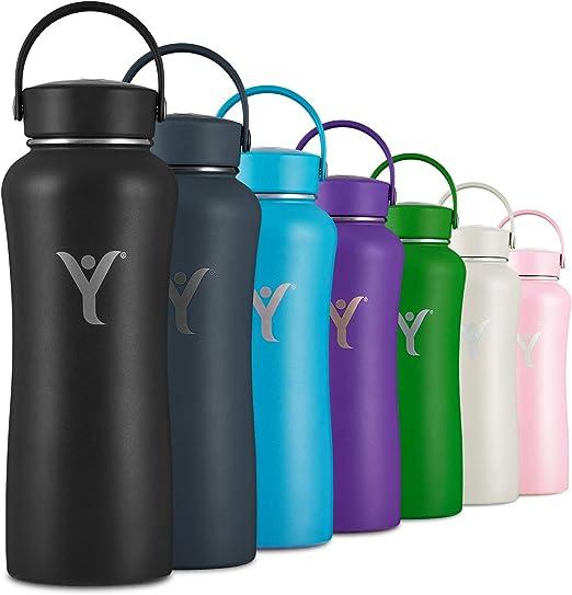 DYLN Insulated Water Bottle | 32 oz (950 mL) | Creates Premium Alkaline Water On-The-Go