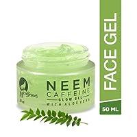 Mcaffeine Neem Caffeine Glow Gel 50 Ml With Aloe Vera - Paraben Free