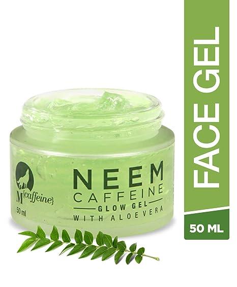 Mcaffeine Neem Caffeine Glow Gel 50ml