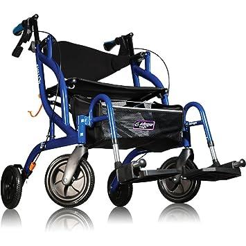 Amg Airgo Fusion andador/silla de transferencia 2 en1 ...