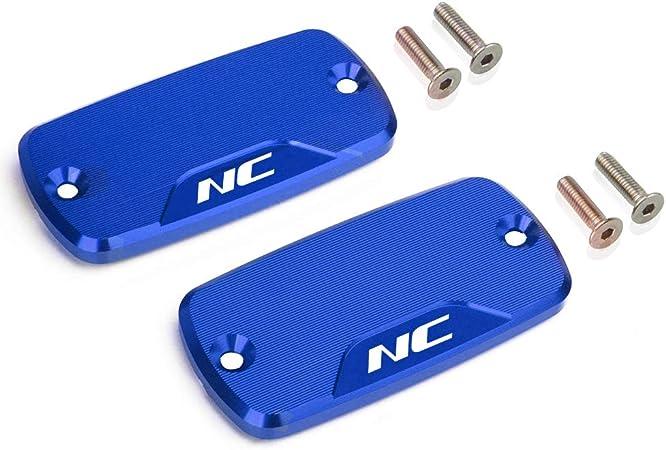 Motorrad Vorne Bremsflüssigkeitsbehälter Deckel Für Honda Nc700 S X Nc750 S X Alle Jahre Blau Auto